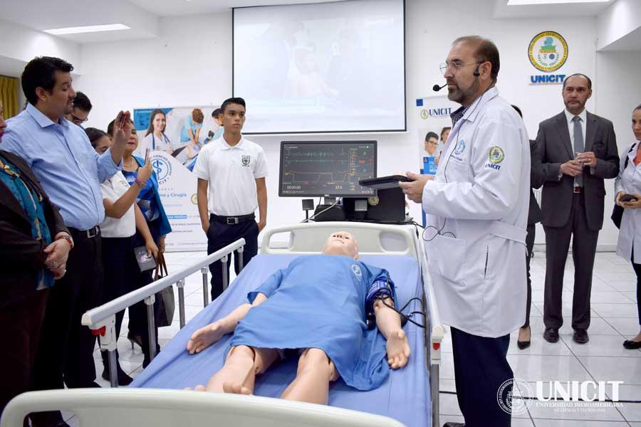 UNICIT inaugura el novedoso Centro de Simuladores Médicos