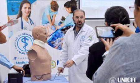 UNICIT INAUGURA CENTRO DE SIMULADORES MÉDICOS
